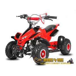 "Dragon II 50cc - Automatic - 4"" Wheels - Speed Restrictor - Disc Brakes - Kill Switch"