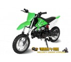 "Fox 125cc Mini Scrambler - 4 Stroke - Kick Start - 4 Gears - 10"" Wheels - Drum Brakes"