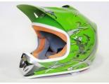 Xtreme Motocross Helmet - Green - Clearance Sale