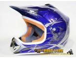 Xtreme Motocross Helmet - Blue - Clearance Sale