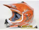 Xtreme Motocross Helmet - Orange - Clearance Sale
