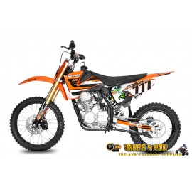 "Hurricane 150cc - 4 Stroke - 19/16"" Wheels - Hydraulic Disc Brakes - Kick Start"