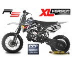 "NRG50 Professional Dirt Bike - 9HP 2 Stroke 12K RPM Water Cooled Engine - 14/12"" Wheels - Kick Start"