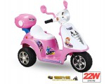 Vespa Style Scooter 6V 22W - Color Pink - Clearance Sale