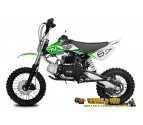 Storm 110cc Dirt Bike - 4 Stroke - Semi-Automatic - Kick Start - Hydraulic Disc Brakes - Great Quality!