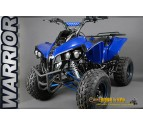 "Warrior 125cc XXL - 4-Stroke - 3 Speed Semi-Automatic + Reverse - Lights - 8"" Wheels"